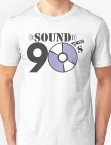 Sound of the 90s purple logo T-Shirt
