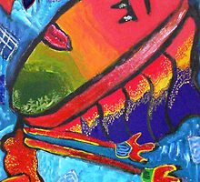Sun Worship by larnielee