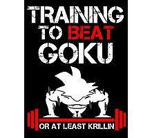 Beat Goku Photographic Print