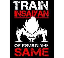 Train Insaiyan Photographic Print