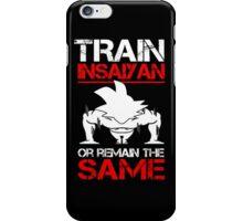 Train Insaiyan 2 iPhone Case/Skin