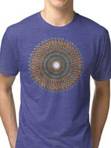FractalConeToDnaPulse Tri-blend T-Shirt
