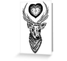 L.T Tattoo Greeting Card