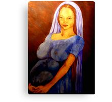Virgin Mary with Child Canvas Print