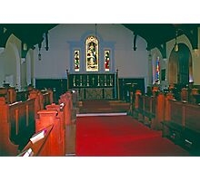 Chapel, King's College Halifax, Novia Scotia Photographic Print