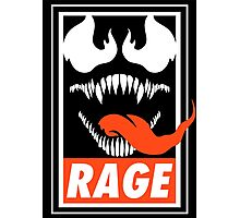 Rage. Photographic Print