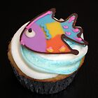 Fish Cupcake by tali
