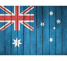 Flag Of Australia Photographic Print