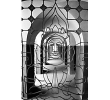 Budhism Through The Arches Photographic Print