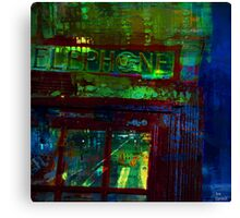 Phone Boxe Canvas Print