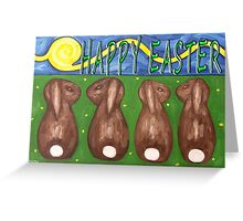 EASTER 45 Greeting Card