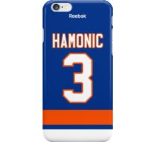 New York Islanders Travis Hamonic Jersey Back Phone Case iPhone Case/Skin