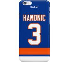 New York Islanders Travis Hamonic Jersey Back Phone Case iPhone Case/Skin