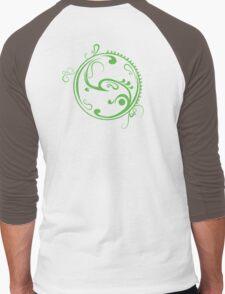 green life Men's Baseball ¾ T-Shirt