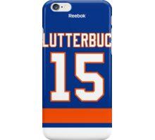 New York Islanders Cal Clutterbuck Jersey Back Phone Case iPhone Case/Skin
