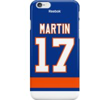 New York Islanders Matt Martin Jersey Back Phone Case iPhone Case/Skin