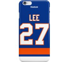 New York Islanders Anders Lee Jersey Back Phone Case iPhone Case/Skin