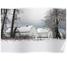 Twin Barns Poster