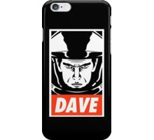 Dave. iPhone Case/Skin