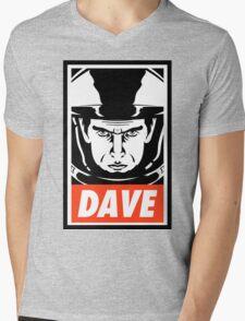 Dave. Mens V-Neck T-Shirt