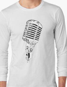 retro mic Long Sleeve T-Shirt
