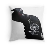 Shadow Masters Deck  Throw Pillow