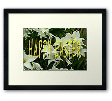 EASTER 51 Framed Print