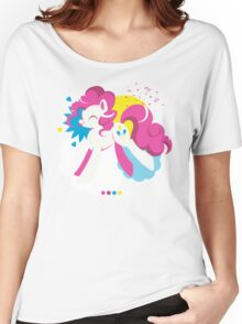 Pinkie Pie (Transparent) Women's Relaxed Fit T-Shirt