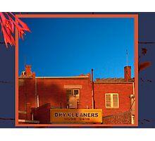Shops Photographic Print
