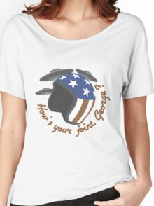 How's your joint, George ? Women's Relaxed Fit T-Shirt