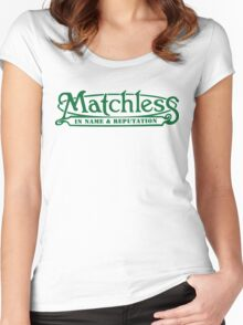 matchless Women's Fitted Scoop T-Shirt