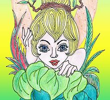 Feisty Fairy Tinkerbell by keijkidz