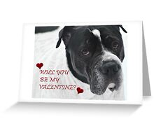 WILL YOU BE MY VALENTINE? FROM SNOOPY Greeting Card