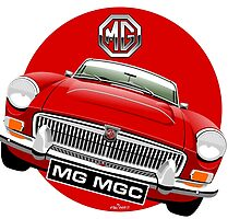MGC Roadster red by car2oonz