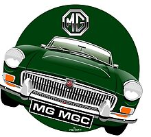 MGC Roadster British Racing Green by car2oonz