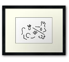 doctor paediatrician patient Framed Print