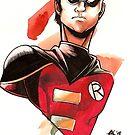 Robin by Captain Ash The Dork Knight
