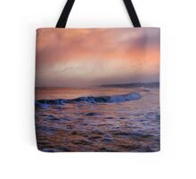 Morning on the coast Tote Bag