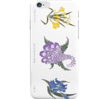 Botanical Explorations: I iPhone Case/Skin
