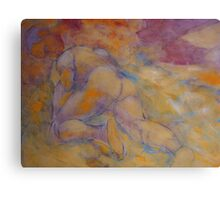 Man Materializes out of the Primordial Mist Canvas Print