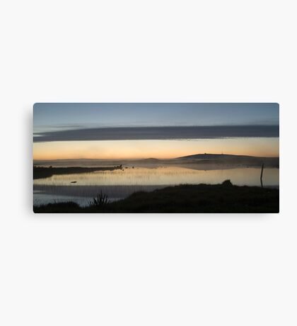Sunset over Loch nam Magarian Canvas Print
