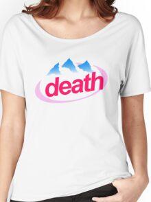 death evian cyberpunk vaporwave health goth Women's Relaxed Fit T-Shirt