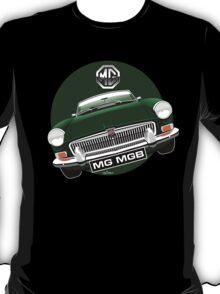 MGB chrome bumper British Racing Green T-Shirt