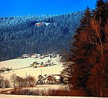 Bohemian forest winter scenery | landscape photography by Patrick Jobst