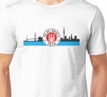 Sankt Pauli - Skyline Unisex T-Shirt
