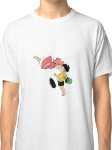 Ponyo on the Cliff by the Sea Classic T-Shirt