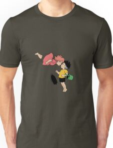 Ponyo on the Cliff by the Sea Unisex T-Shirt
