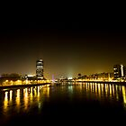 River Thames - At Night by MidnightRunner