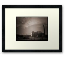 Demolition Desolation Framed Print