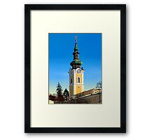 The monastery of Schlägl 2 | architectural photography Framed Print